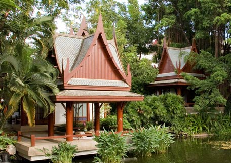 Outdoor Sala of Thai Pavilion